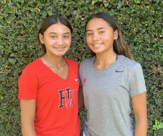 Harvard-Westlake freshman Gisele Thompson, left, and her sister, sophomore Alyssa Thompson, are two of the best girls 'youth soccer players in the nation.