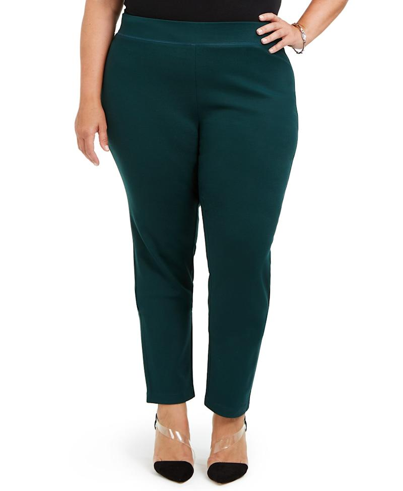 I.N.C. Skinny Pull On Ponte Pant. (Photo: Macy's)