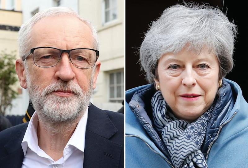 Corbyn and May have both lost support with the electorate (Getty)