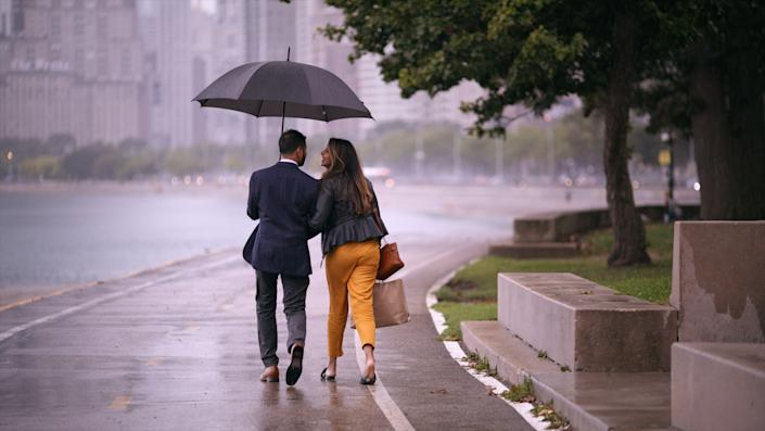 A couple in Netflix's 'Indian Matchmaking' | Indian Matchmaking
