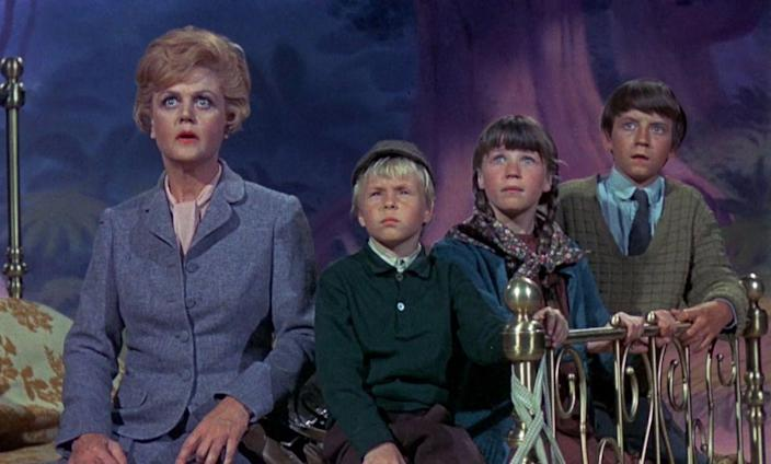 <p>The 1964 smash <em>Mary Poppins</em> may be the most enduring of Disney's live-action/animated hybrid films, but <em>Bedknobs and Broomsticks c</em>ertainly has its supporters. Angela Lansbury, who two decades later would voice Mrs. Potts in a little movie called <em>Beauty and the Beast</em>, starred as a kindly witch in training. A magical, transporting bed takes her and three children on an adventure that ends with—you guessed it—an epic showdown with the Nazis.</p>