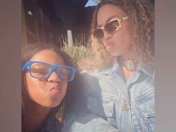 Blue Ivy Carter and Beyonce (Image courtesy: Instagram)
