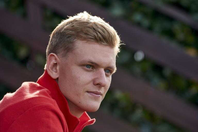 Centre of attention: Mick Schumacher, will make his Formula One debut in Bahrain on Sunday