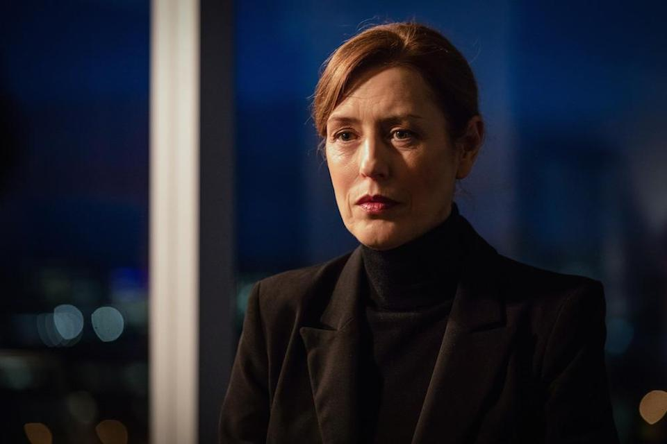 Gina McKee as Commander Anne Sampson (Picture: BBC)