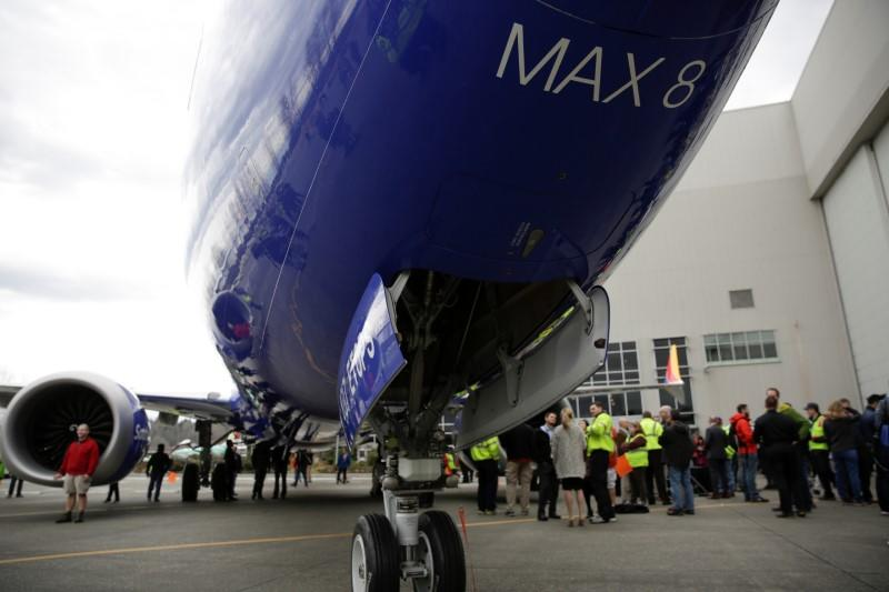 Boeing celebrates the 10,000th 737 to come off the production line in Renton