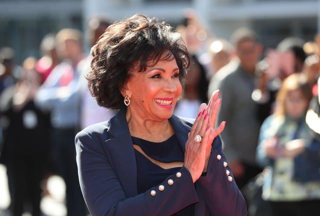 Shirley Bassey 'Square of Fame'