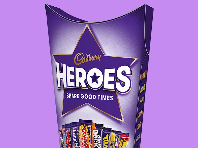 Cadbury adds two new chocolates to Heroes box
