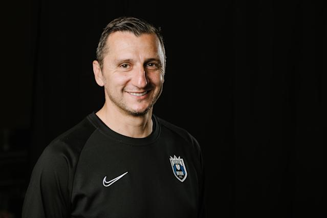 Vlatko Andonovski is expected to leave his position as Reign FC coach and take over the USWNT. (Getty Images)