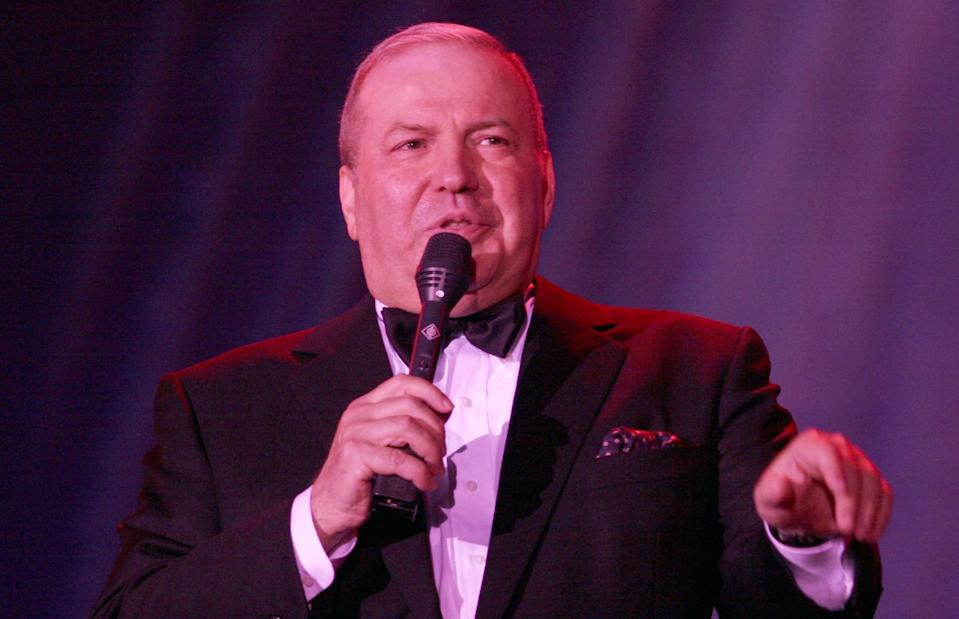 <p>Singer Frank Sinatra Jr. died on March 16, 2016 at 72 from a heart attack. Photo from Getty Images </p>