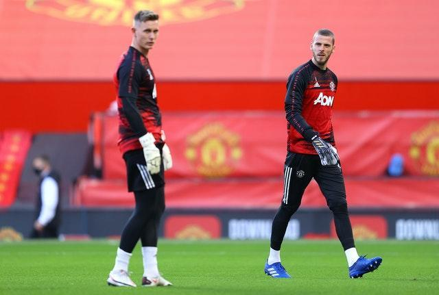 Dean Henderson is providing competition for David De Gea at Old Trafford