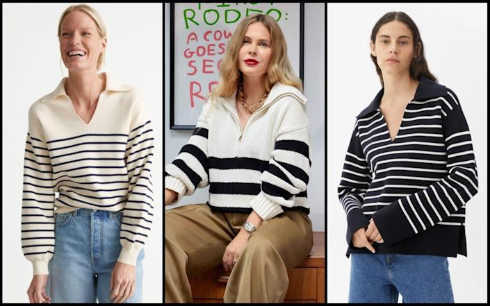 The It knit of the season is a simple striped jumper – here's why it's worth the investment