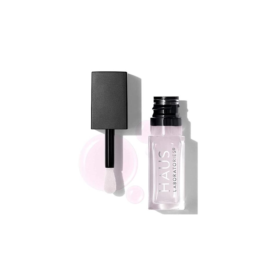 <p>The <span>Haus Laboratories by Lady Gaga: PhD Hybrid Lip Oil Stain in Neutral</span> ($24) is a great choice to top off any lip for a high-shine look and nourished feel.</p> <p>The packaging is so sleek and small; you can easily throw it in a bag or keep it in your pockets. It's the only thing I carry for my lips when I'm on the go; it provides color, hydration, and high-shine plump in just one swipe. I highly recommend the Haus Labs PhD Hybrid Lip Oil Stain, especially for the summer.</p>