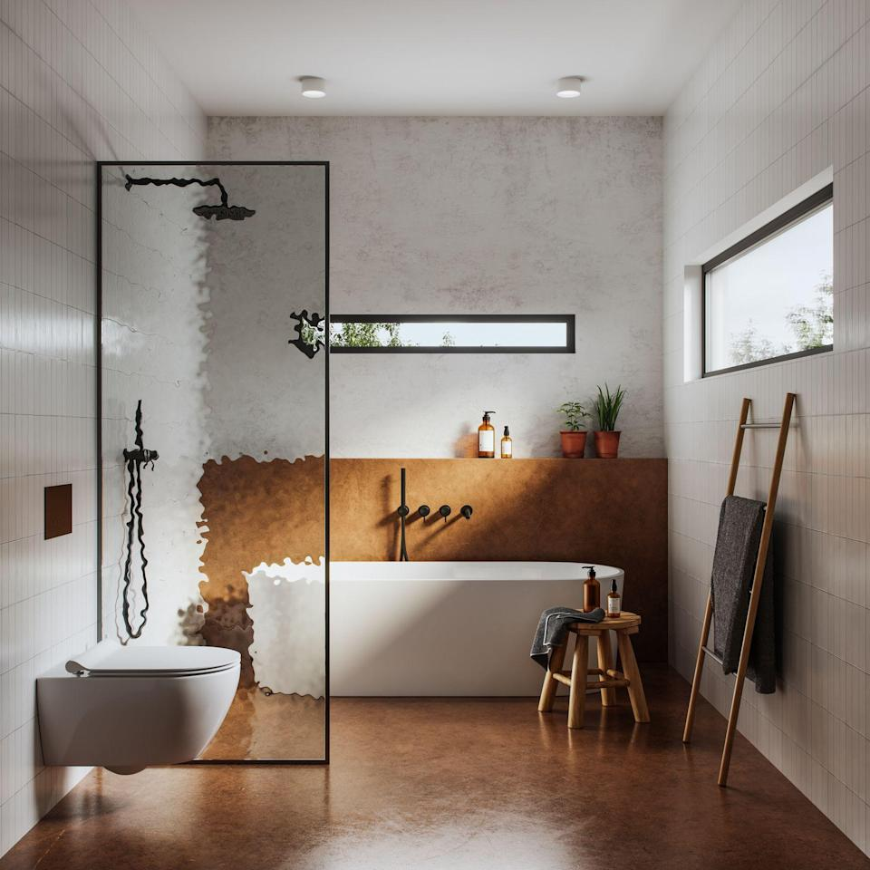"<p>With every new year comes the urge to reboot—and we can guarantee that this feeling will only be magnified when 2020 officially comes to a close. There's no doubt that the <a href=""https://www.elledecor.com/design-decorate/room-ideas/g140/the-bathroom-gallery-16975/"" rel=""nofollow noopener"" target=""_blank"" data-ylk=""slk:bathroom"" class=""link rapid-noclick-resp"">bathroom</a> is the ideal space to begin your design refresh; after all, it's where all of your self-care rituals take place, and it should be designed with tranquillity at top of mind. It should be a place where you love to spend time, whether you're simply brushing your teeth or soaking in the tub with a glass of wine and a favorite book. So if you're in the mood to give your <a href=""https://www.elledecor.com/bathroom-design/"" rel=""nofollow noopener"" target=""_blank"" data-ylk=""slk:bathroom"" class=""link rapid-noclick-resp"">bathroom</a> a face-lift, look no further and get inspired by these stylish bathroom design trends for 2021.</p>"