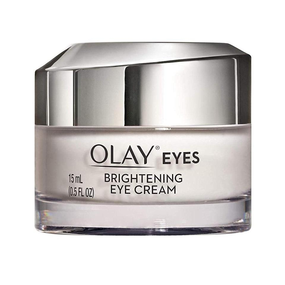 Olay Eyes Brightening Eye Cream is formulated with vitamins and a light-reflecting complex to revive tired-looking skin — and the ghosts of sleepless nights.