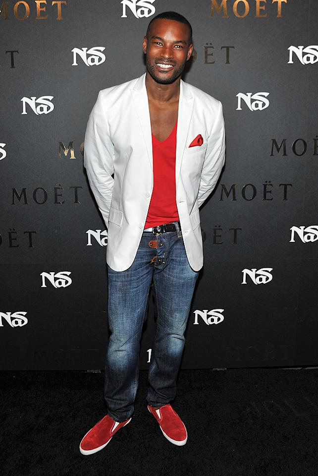 Take a little break and enjoy a moment to yourself with some Tyson Beckford. You're welcome! (7/16/2012)