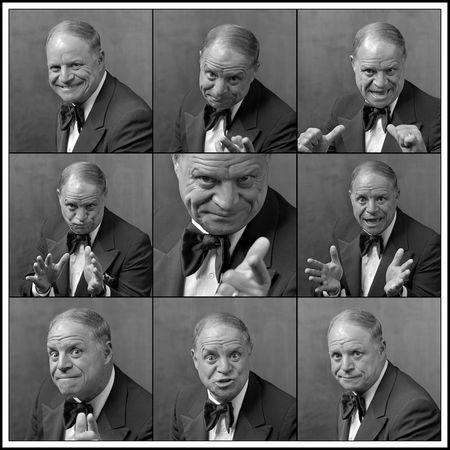 FILE PHOTO: Comedian Don Rickles is shown in multiple poses during a portrait session in Las Vegas