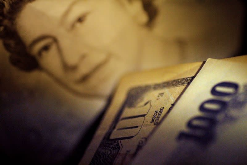 Sterling falls on new Brexit fears, stocks edge higher