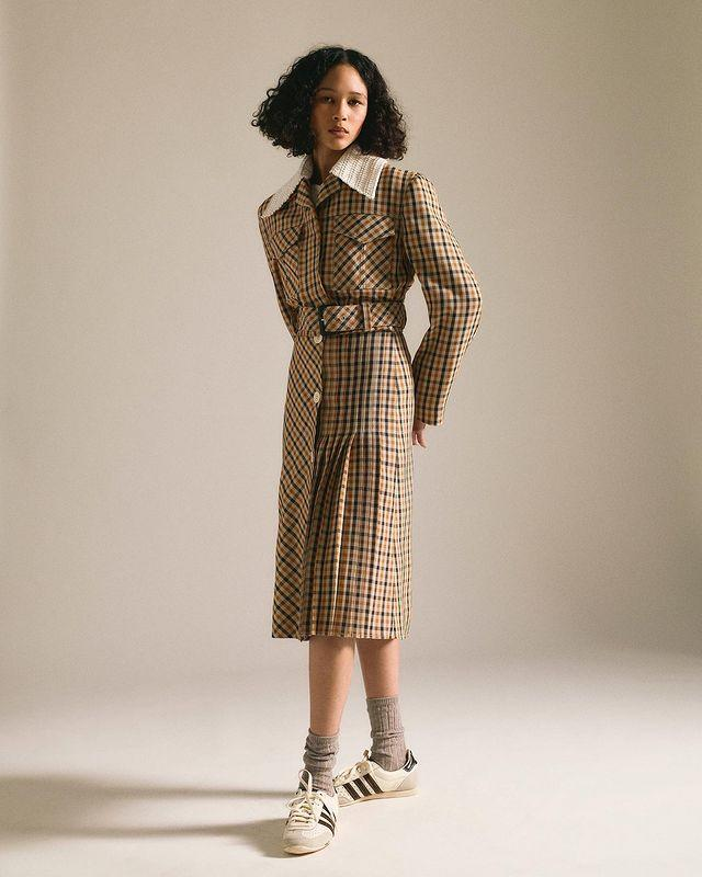 """<p>Central Saint Martins graduate, Grace Wales Bonner, launched her eponymous label in 2014 initially as a menswear brand that then expanded into womenswear (and with fab results). With expertly tailored pieces, the brand describes its aesthetic as """"proposing a distinct notion of luxury, via a hybrid of European and Afro-Atlantic approaches."""" </p><p><a class=""""link rapid-noclick-resp"""" href=""""https://walesbonner.net/"""" rel=""""nofollow noopener"""" target=""""_blank"""" data-ylk=""""slk:Shop Wales Bonner"""">Shop Wales Bonner</a></p><p><a href=""""https://www.instagram.com/p/CSe_9nOAytk/"""" rel=""""nofollow noopener"""" target=""""_blank"""" data-ylk=""""slk:See the original post on Instagram"""" class=""""link rapid-noclick-resp"""">See the original post on Instagram</a></p>"""