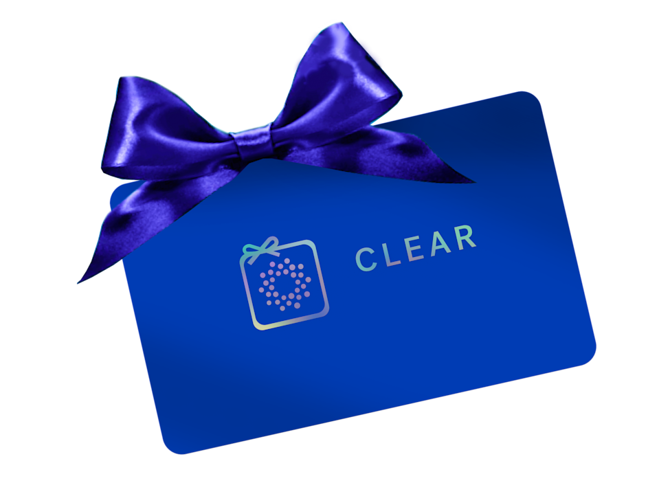 clear gift card airport