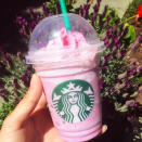 "<p>Keen to take things one step further, a Starbucks in Disneyland invented the alternative 'Pink Pegasus'. A white mocha and raspberry drink without the sour blue ingredients in its Unicorn sibling. Oh, and a bit of ""pink magic"" too, apparently. [Photo: verucabelle] </p>"