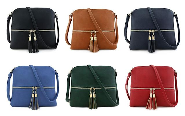 The lightweight bag is versatile, comes in a plethora of beautiful colors — and it's wallet-friendly. (Photo: Amazon)