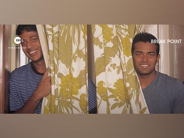 Leander Paes, Mahesh Bhupathi in a still from 'Break Point' trailer (Image source: YouTube)