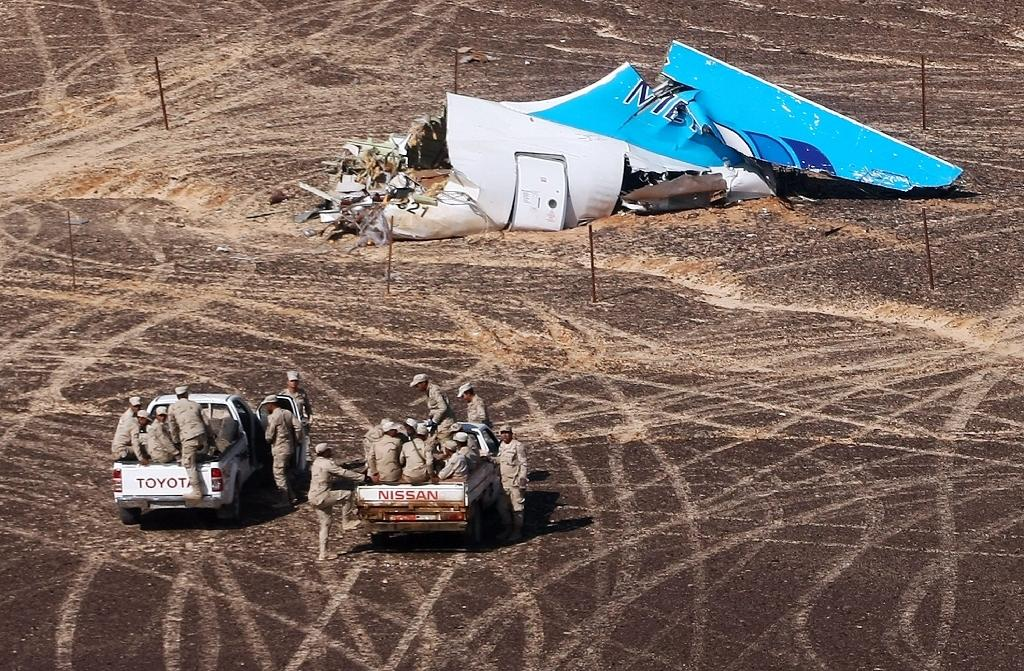 Russia pledged to step up its strikes in Syria after the Islamic State jihadist group claimed responsibility for a Russian passenger jet crash over Egypt last month, killing all 224 people on board (AFP Photo/MAXIM GRIGORYEV)