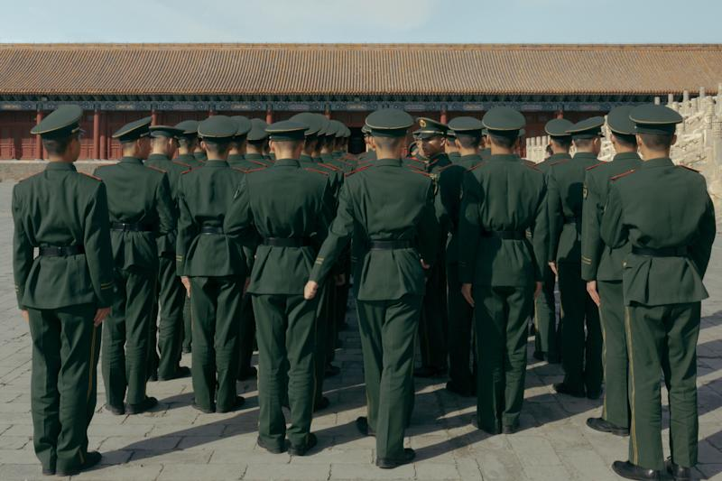 Soldiers in China.