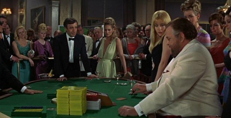 Peter Sellers, Ursula Andress and Orson Welles in 1967's 'Casino Royale' (credit: Sony)