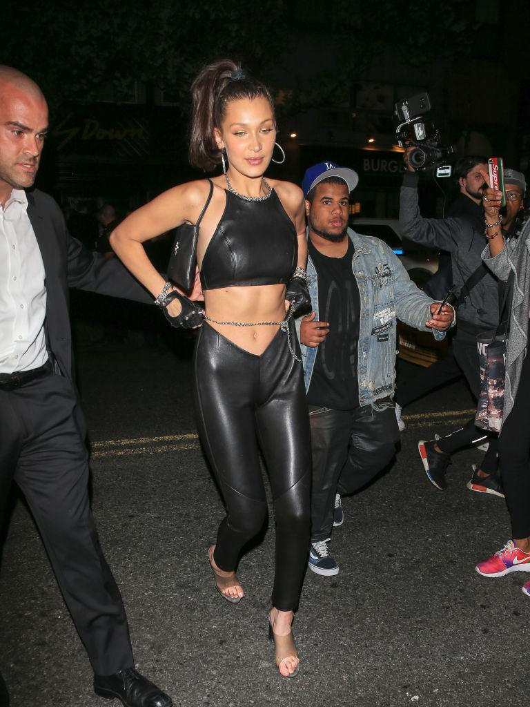<p>MAY 08: Bella Hadid is seen on May 08, 2018 in New York City. (Photo by Clickpix/Bauer-Griffin/GC Images) </p>