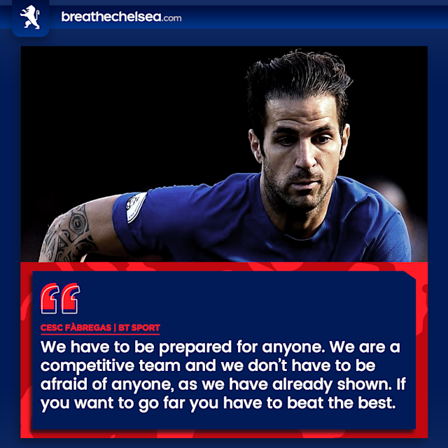 To win the competition, Cesc Fabregas and co will have to beat Europe's elite eventually.