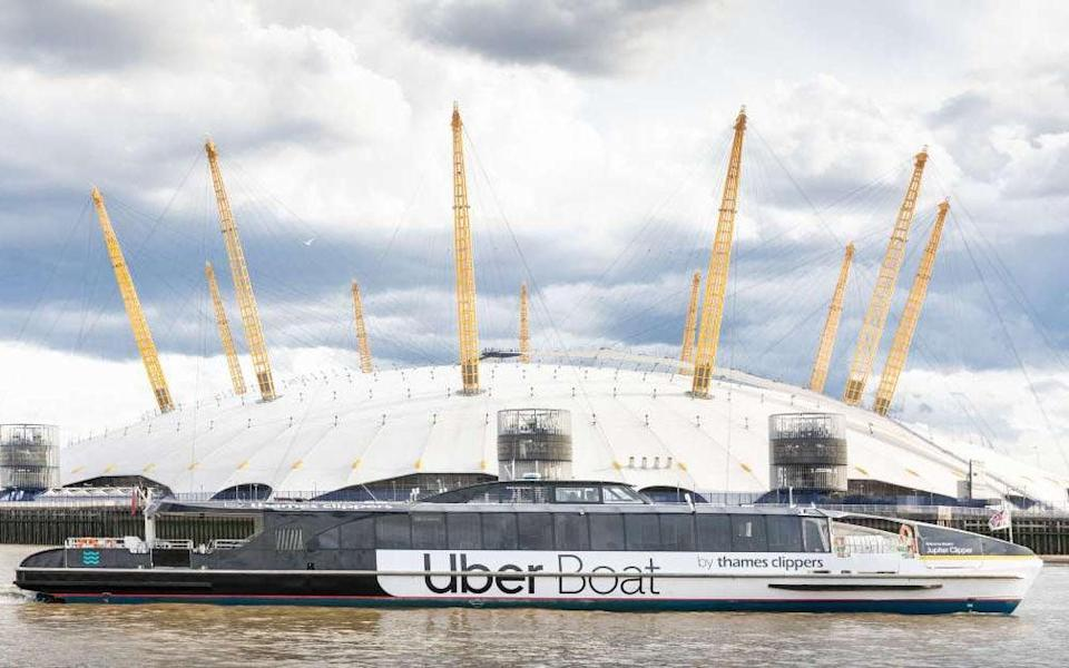 Londoners can now board an Uber at 23 piers across the city - Uber