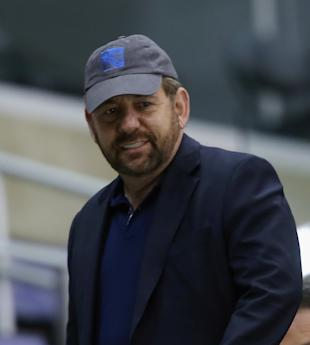 James Dolan, not being involved in the Knicks' coaching hire. (Bruce Bennett/Getty Images)