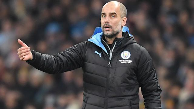 Manchester City seized control of the EFL Cup semi-final tie with Manchester United, but Pep Guardiola does not think the contest is over.