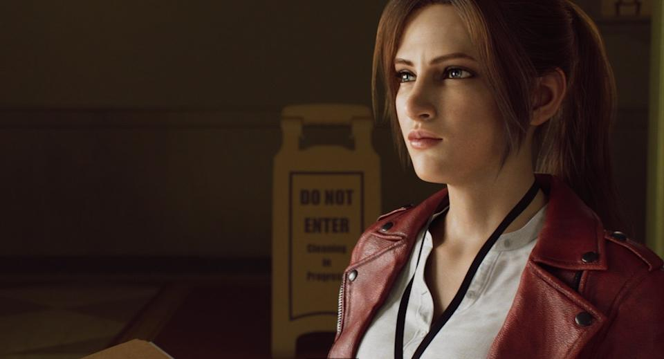 Claire (Stephanie Panisello) in Resident Evil: Infinite Darkness (Netflix)