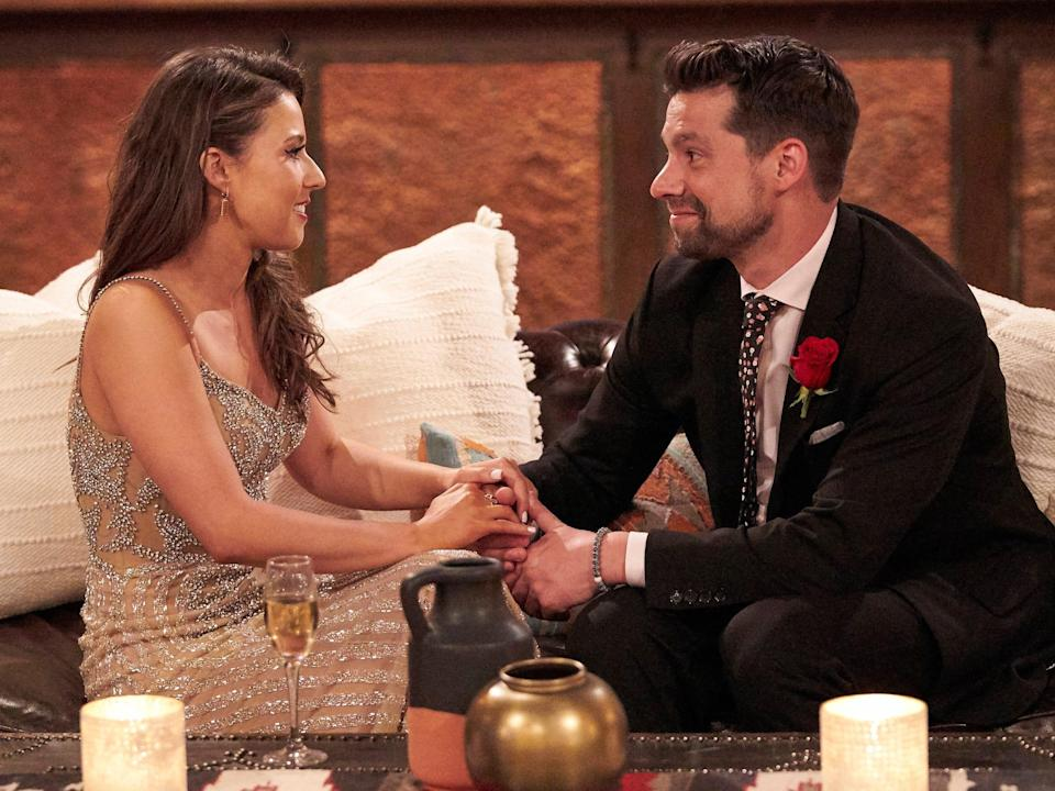 michael a and katie on the bachelorette