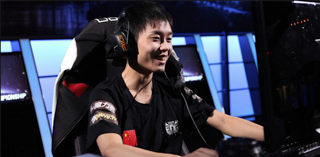 Koro1 at the 2014 World Championship (lolesports)