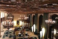 "<p>The intricate decor inside Wilmington's finest hotel might make you feel like you're away on a <a href=""https://www.elledecor.com/life-culture/travel/a12157824/san-marino/"" rel=""nofollow noopener"" target=""_blank"" data-ylk=""slk:European vacation"" class=""link rapid-noclick-resp"">European vacation</a>. The woodwork, terrazzo floors, and elegant chandeliers hearken back to the Gilded Age, making for a luxurious stay even today.<br></p><p><span class=""redactor-unlink""><strong>EXPLORE NOW</strong></span>: <a href=""https://www.tripadvisor.com/Hotel_Review-g34059-d114447-Reviews-HOTEL_DU_PONT-Wilmington_Delaware.html"" rel=""nofollow noopener"" target=""_blank"" data-ylk=""slk:Hotel du Pont"" class=""link rapid-noclick-resp"">Hotel du Pont</a></p>"