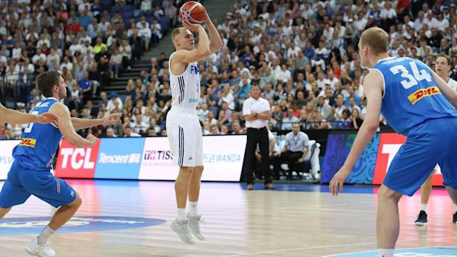 Finland and Bulgaria moved through in FIBA Basketball World Cup qualifying on Monday.