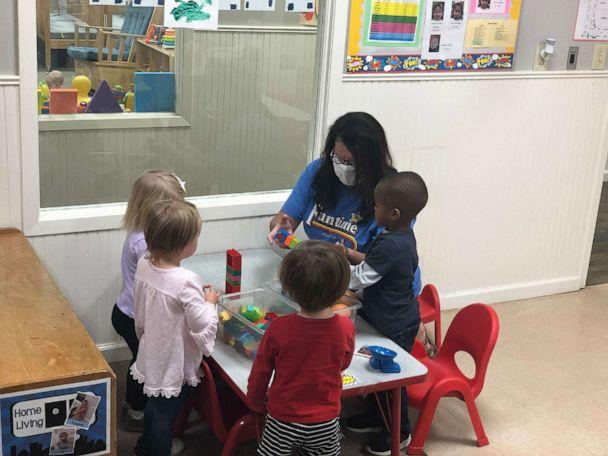 PHOTO: Lesia Daniel Hollingshead works with students at Funtime Preschool in Clinton, Miss. (Funtime Preschool)