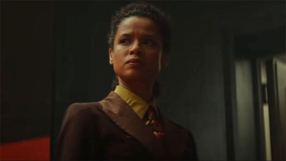 But she luckily had the freedom of knowing that Loki is kind of an origin story for her character, Ravonna Renslayer.