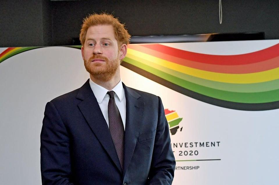 The Duke of Sussex has said an area known as a 'natural beating heart' of southern Africa must be protected with a moratorium on oil and gas drilling (Stefan Rousseau/PA) (PA Archive)