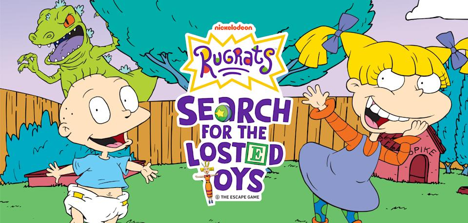 Enter the 'Rugrats' zone with a new virtual escape room, 'Search for the Losted Toys' (Photo: Courtesy of The Escape Game)