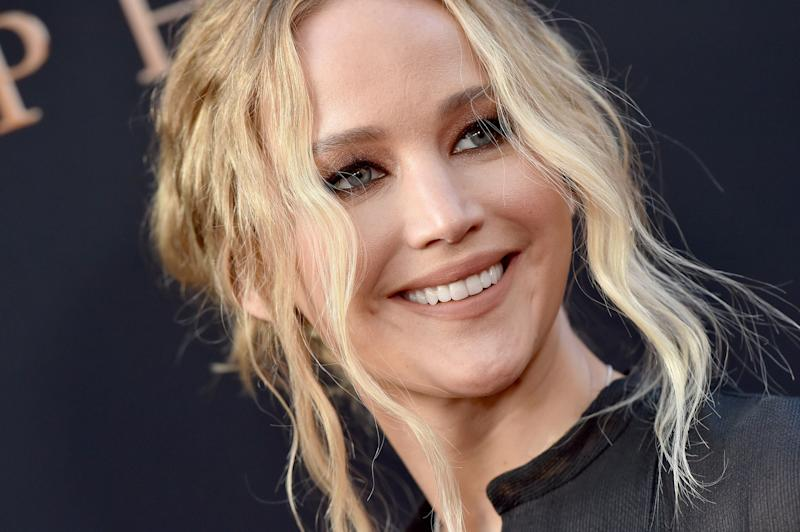 """Jennifer Lawrence at the premiere of 20th Century Fox's """"Dark Phoenix on June 4, 2019 in Hollywood, California. (Photo: Axelle/Bauer-Griffin via Getty Images)"""