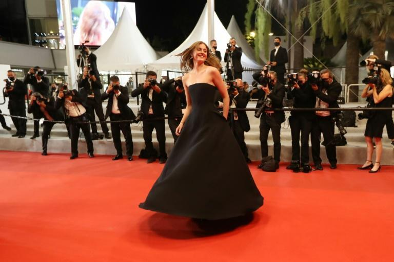 Cannes' new darling: Norwegian actress Renate Reinsve on the red carpet