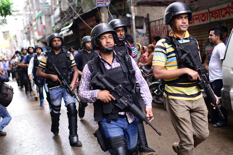 There have been concerns about the viability of England's tour ever since 29 people were killed in a deadly terror attack in Dhaka last month (AFP Photo/)