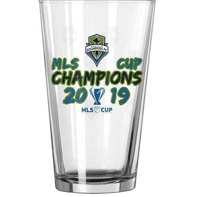 Sounders FC 2019 MLS Cup Champions Pint Glass