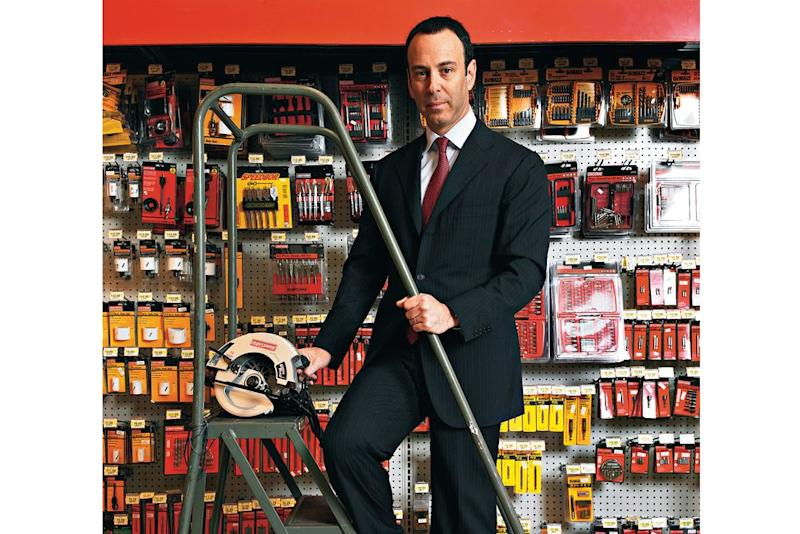 Eddie Lampert at a Sears in Yonkers, photographed for a 2006 Fortune story. | Nigel Dickson