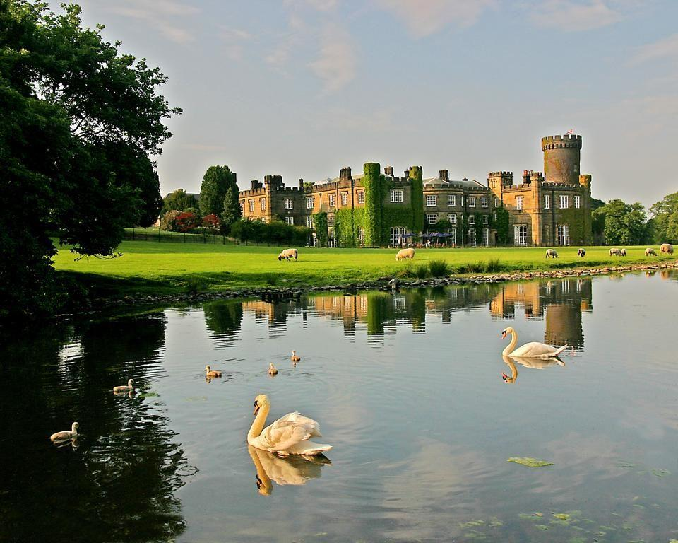 """<p>If you're looking to stay in a castle hotel surrounded by dramatic scenery, <a href=""""https://go.redirectingat.com?id=127X1599956&url=https%3A%2F%2Fwww.booking.com%2Fhotel%2Fgb%2Fswintonpark.en-gb.html%3Faid%3D2070929%26label%3Dcastle-hotels&sref=https%3A%2F%2Fwww.countryliving.com%2Fuk%2Ftravel-ideas%2Fstaycation-uk%2Fg35418369%2Fcastle-hotels%2F"""" rel=""""nofollow noopener"""" target=""""_blank"""" data-ylk=""""slk:Swinton Park"""" class=""""link rapid-noclick-resp"""">Swinton Park</a> is most definitely your place. The former ancestral home is set in 200 acres of parkland, lakes and gardens, and with the rolling Yorkshire countryside right on the doorstep, you're perfectly situated for a rural weekend escape. </p><p>The sprawling grounds offer plenty of opportunities for anyone looking to indulge in a spot of old-fashioned huntin', shootin' and fishin' (with a bit of horse riding thrown in for good measure), before holing up fireside in the library or drawing room, whisky in hand before dinner.</p><p><a class=""""link rapid-noclick-resp"""" href=""""https://go.redirectingat.com?id=127X1599956&url=https%3A%2F%2Fwww.booking.com%2Fhotel%2Fgb%2Fswintonpark.en-gb.html%3Faid%3D2070929%26label%3Dcastle-hotels&sref=https%3A%2F%2Fwww.countryliving.com%2Fuk%2Ftravel-ideas%2Fstaycation-uk%2Fg35418369%2Fcastle-hotels%2F"""" rel=""""nofollow noopener"""" target=""""_blank"""" data-ylk=""""slk:CHECK AVAILABILITY"""">CHECK AVAILABILITY</a></p>"""