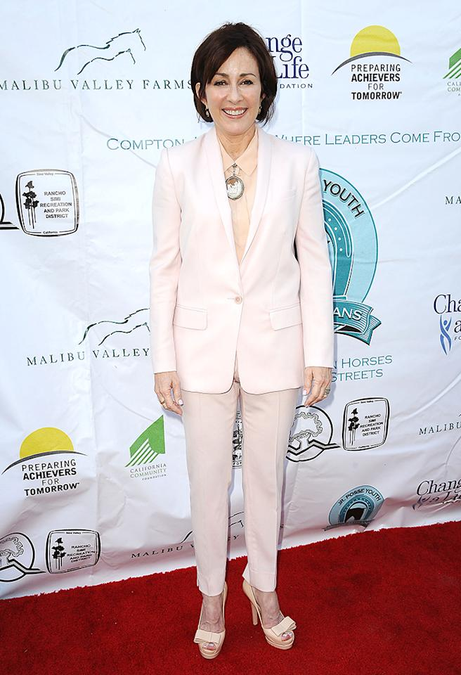 LOS ANGELES, CA - MAY 18:  Actress Patricia Heaton attends the 6th annual Compton Jr. Posse gala at Los Angeles Equestrian Center on May 18, 2013 in Los Angeles, California.  (Photo by Jason LaVeris/FilmMagic)